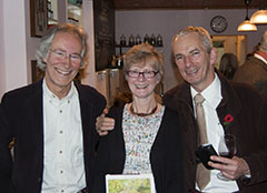 Shirley Hibberd book launch - Anthony, Anne and Tim
